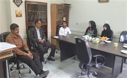 نشست صمیمی کارشناسان دانشکده بهداشت باریاست دانشکده